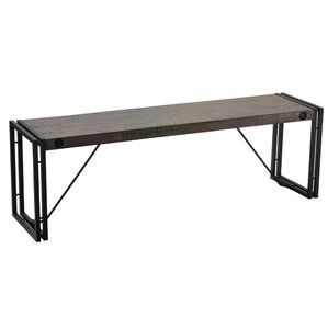 Beautiful Thayer Metal/Wood Bench
