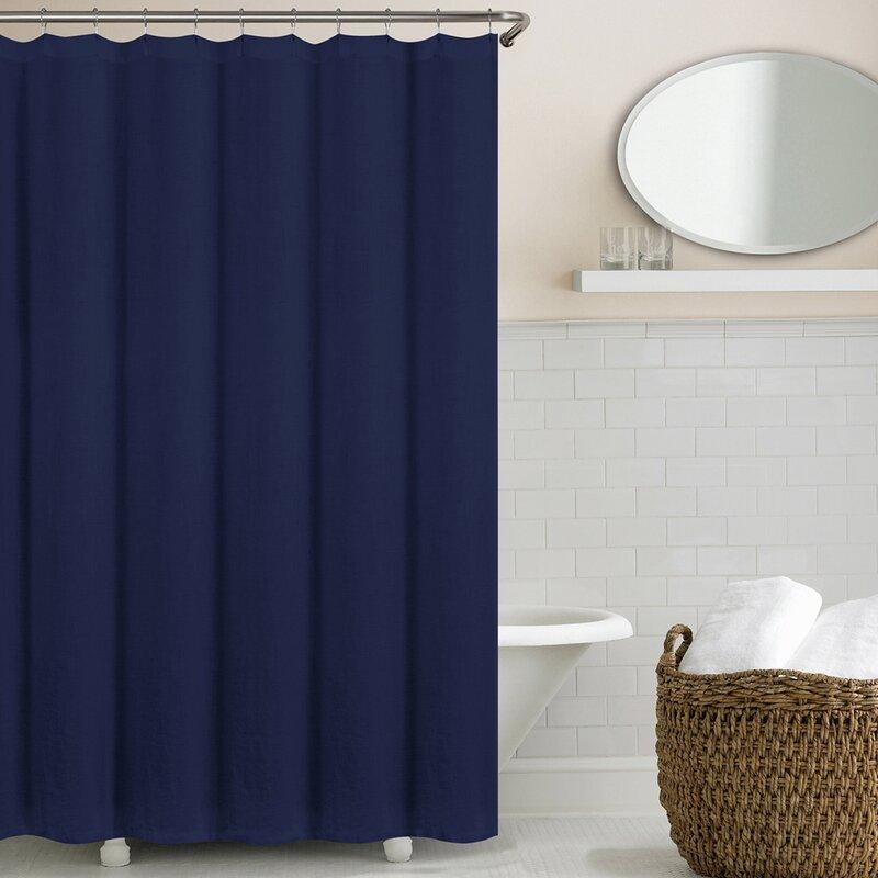 Reva Belgian Linen Shower Curtain & Reviews | Joss & Main