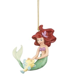 Disney Ariel Best Friend Ornament Hanging Figurine