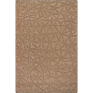 Cooley Beige Solid Area Rug