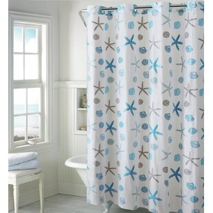 Seashell Shower Curtain. By Hookless