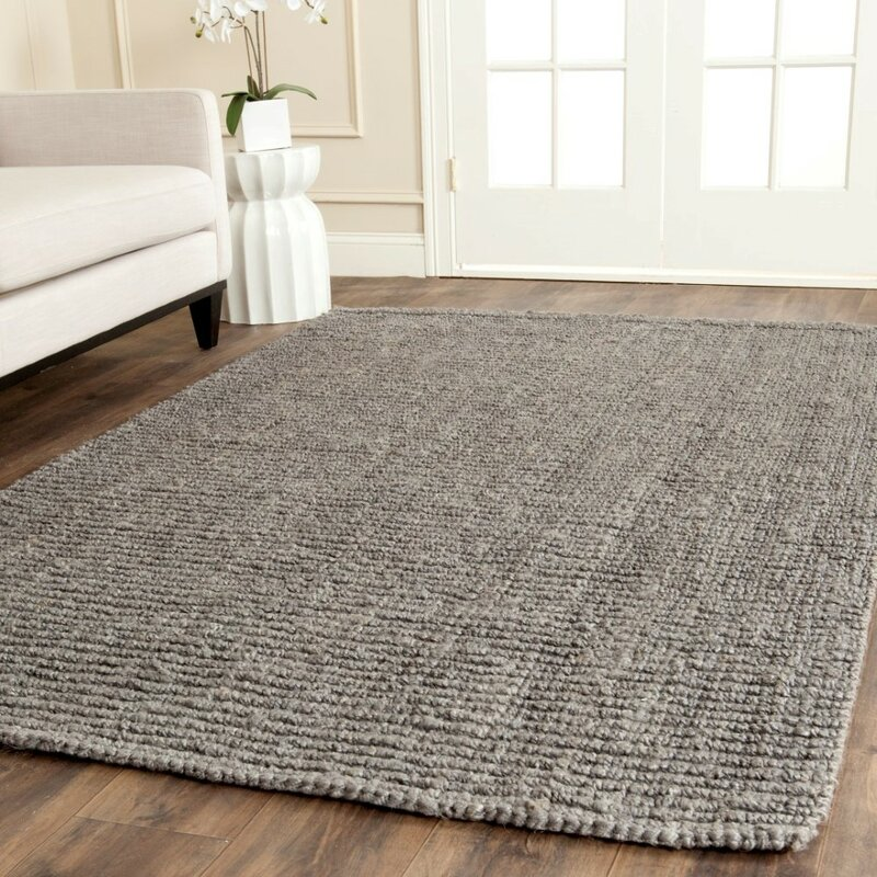 Greene Hand Woven Gray Indoor Area Rug
