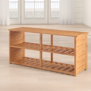 Delicieux 10 Pair Bamboo Shoe Storage Bench