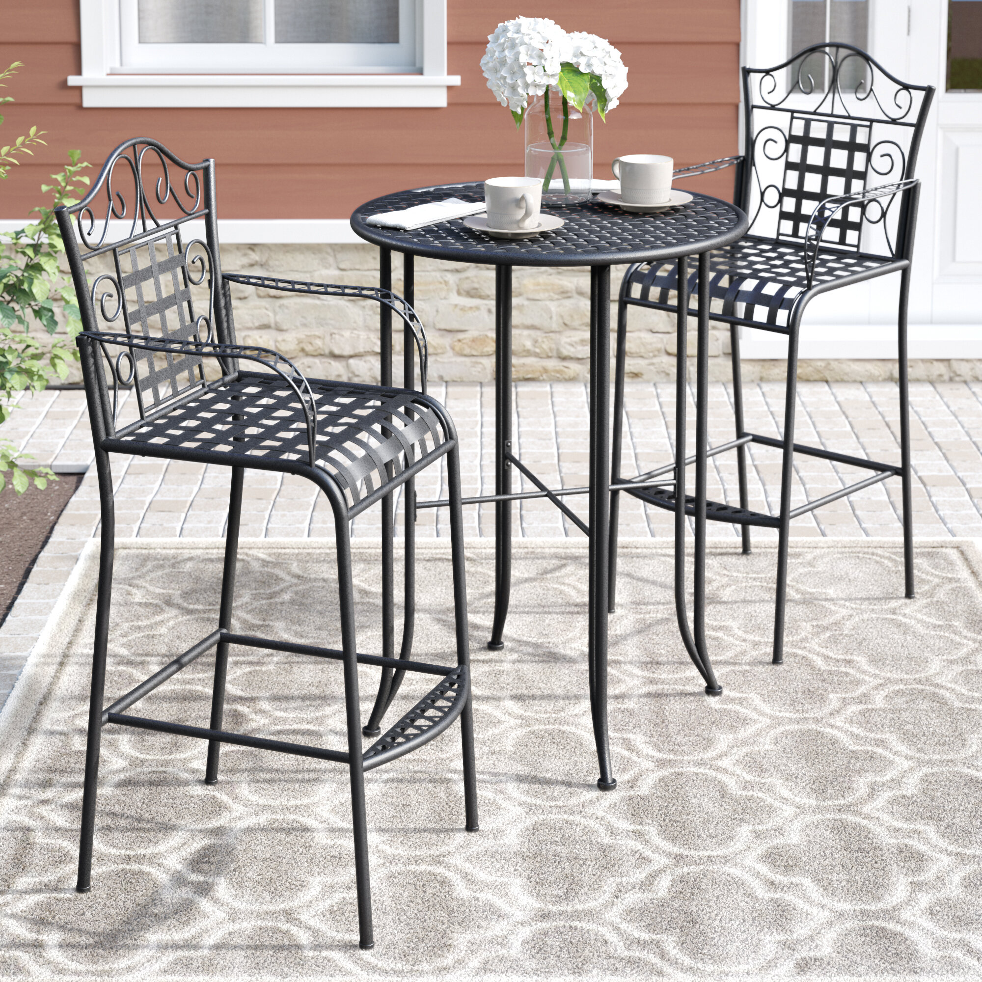 Attrayant Outdoor Tall Patio Dining Sets | Wayfair