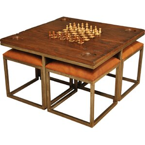 Chess Board Table Classic Game Tables | Wayfair