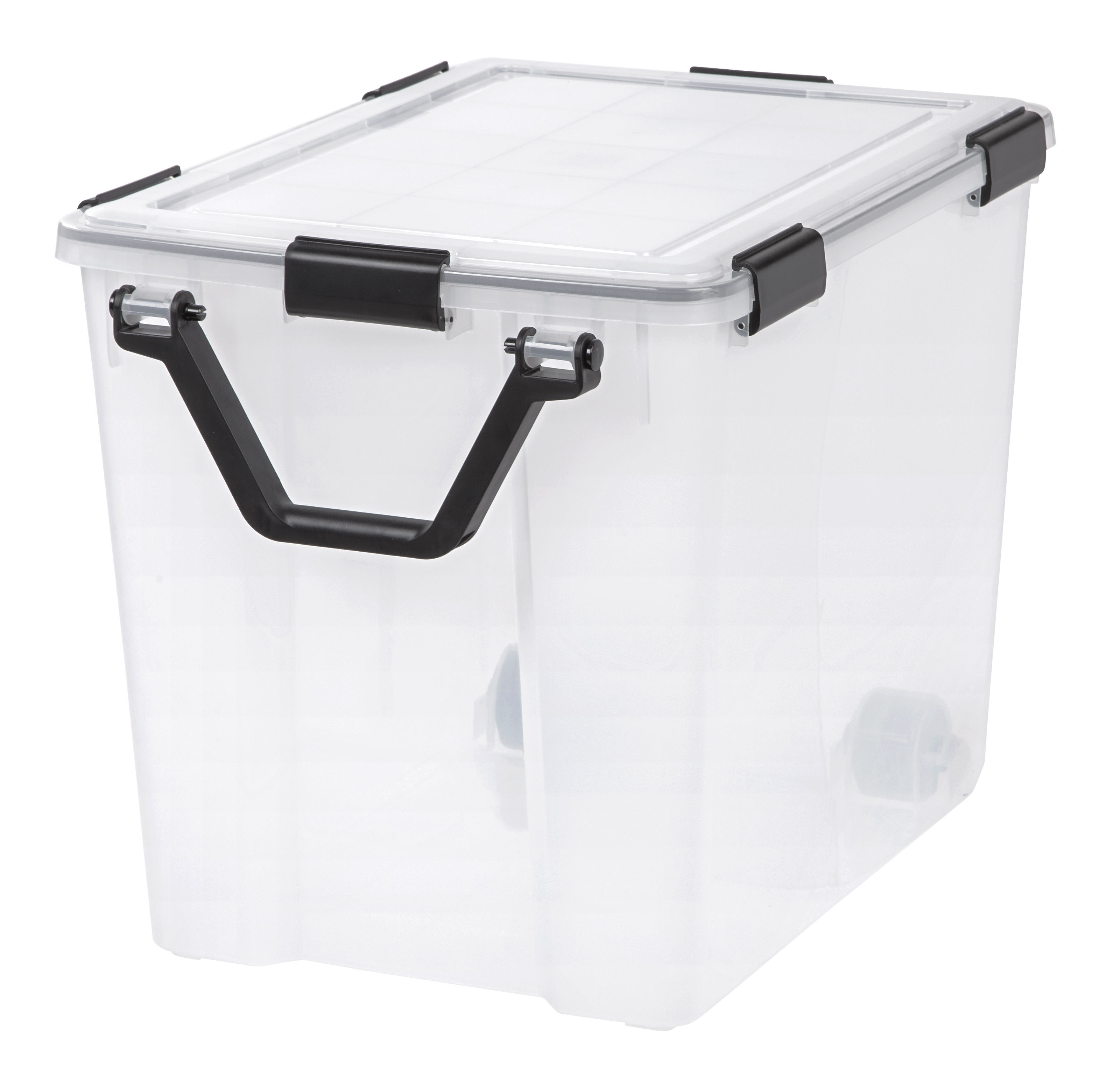 IRIS Weathertight 103 qt Plastic Storage Tote | Wayfair