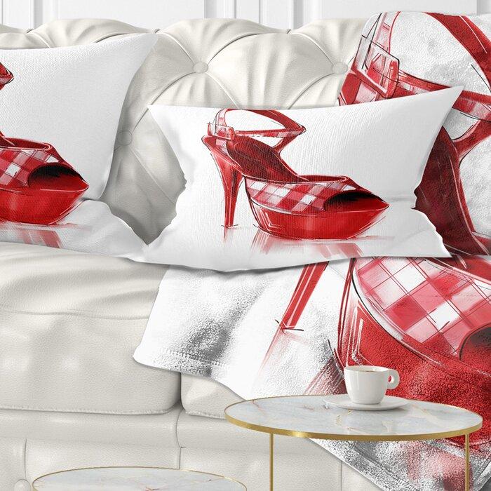 East Urban Home High Heel Women s Shoe Lumbar Pillow  7894c00a2