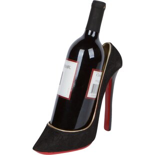 Byler High Heel Holder 1 Bottle Tabletop Wine Rack