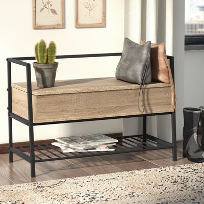 Ermont Wood Storage Bench