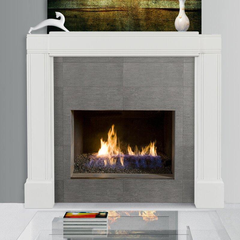 Wood Fireplace Mantel Surround Part - 47: Default_name