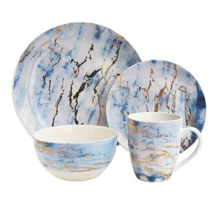 Save  sc 1 st  Wayfair & Blue Dinnerware Sets Youu0027ll Love | Wayfair