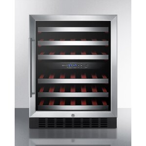 Summit 24-inch 46 Bottle Dual Zone Built-In Wine..