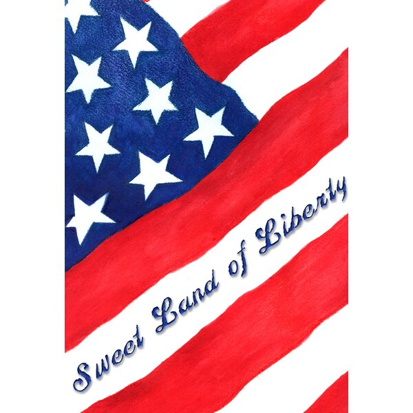 Toland Home Garden Sweet Land Of Liberty Garden Flag | Wayfair