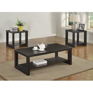 Audra 3 Piece Coffee Table Set