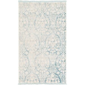 bernard light blue area rug