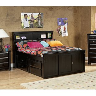 Eldon Full Bed With Bookcase Headboard And Storage