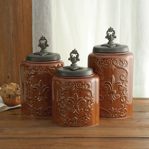 Design guild wayfair for Hearth and home designs canister set
