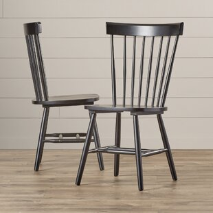 Mesquite Spindle Back Side Chair (Set of 2) & Spindle Spool Chair | Wayfair