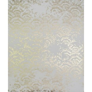 Foiled Gold Wallpaper Youll Love Wayfair