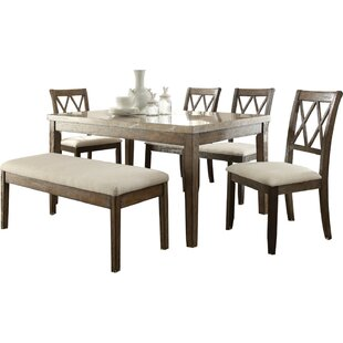 Hendry 6 Piece Dining Set