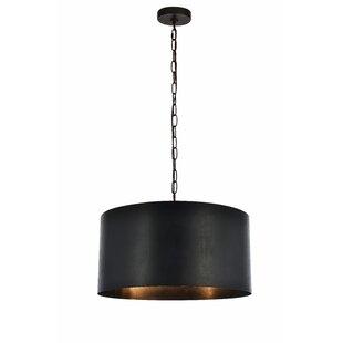 Save  sc 1 st  AllModern & Modern Drum Pendant Lighting
