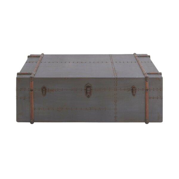 Beau Cole U0026 Grey Wood Coffee Table Trunk U0026 Reviews | Wayfair