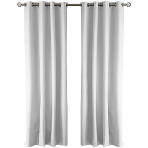 Cabo Solid Blackout Grommet Curtain Panels (Set Of 2)