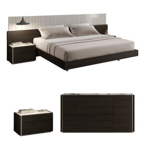 Cullerton Platform Configurable Bedroom Set