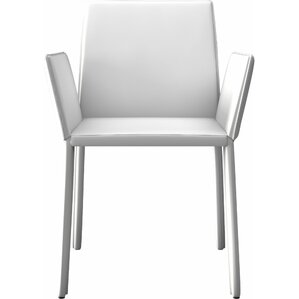 Sanctuary Arm Upholstered Dining Chair by Modloft