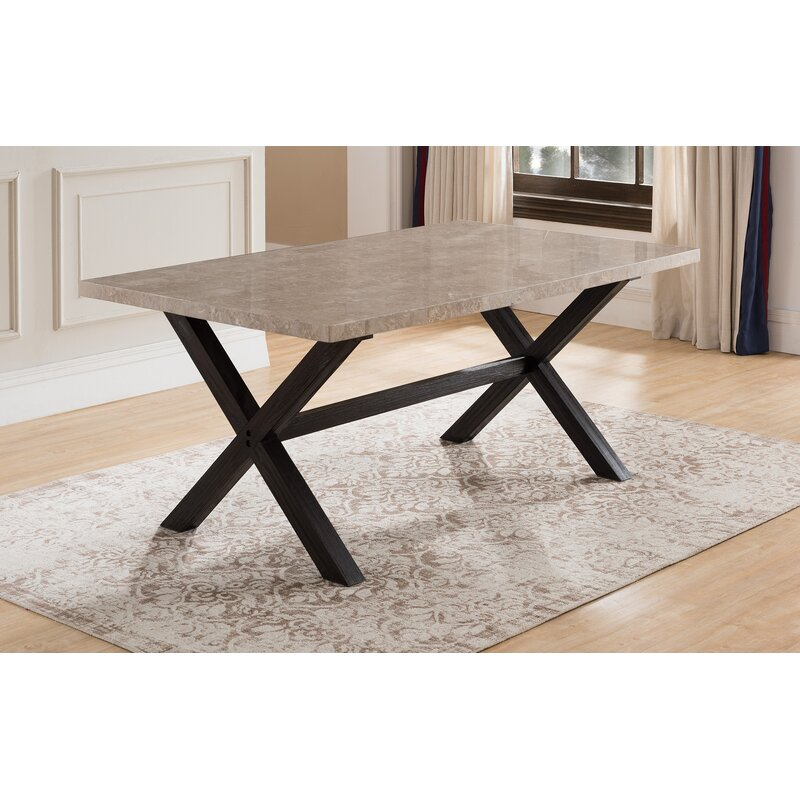 Wonderful Red Barrel Studio Coleville Solid Marble Dining Table | Wayfair OF91