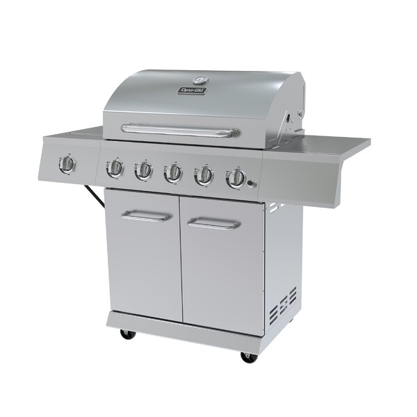 Dyna Glo 5 Burner Propane Gas Grill With Cabinet Amp Reviews