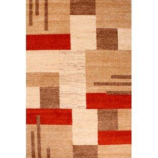 Spirit Blocks Terracotta Rug by Ultimate Home Living Group