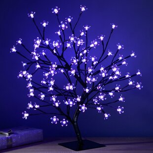 Pre Lit Colour Controlled 96 Light Led Cherry Blossom Tree