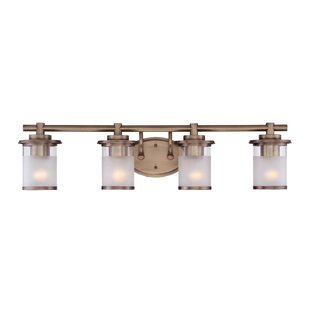 Beau Gold Bathroom Vanity Lighting