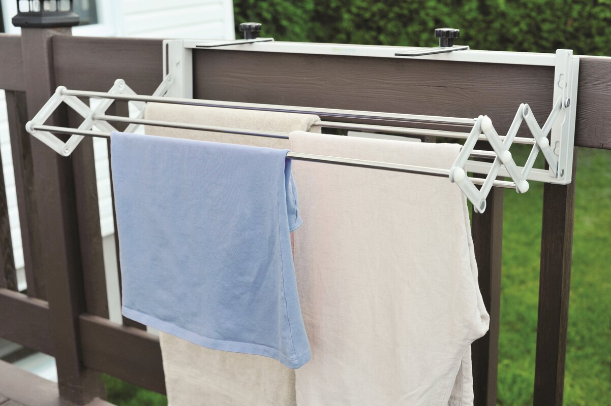 Compact Smart Dryer Telescopic Clothes Drying Rack