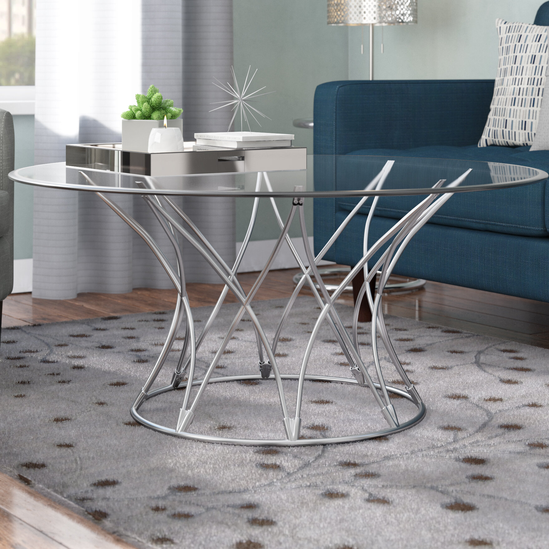 Elegant Wade Logan Touchstone Coffee Table U0026 Reviews | Wayfair