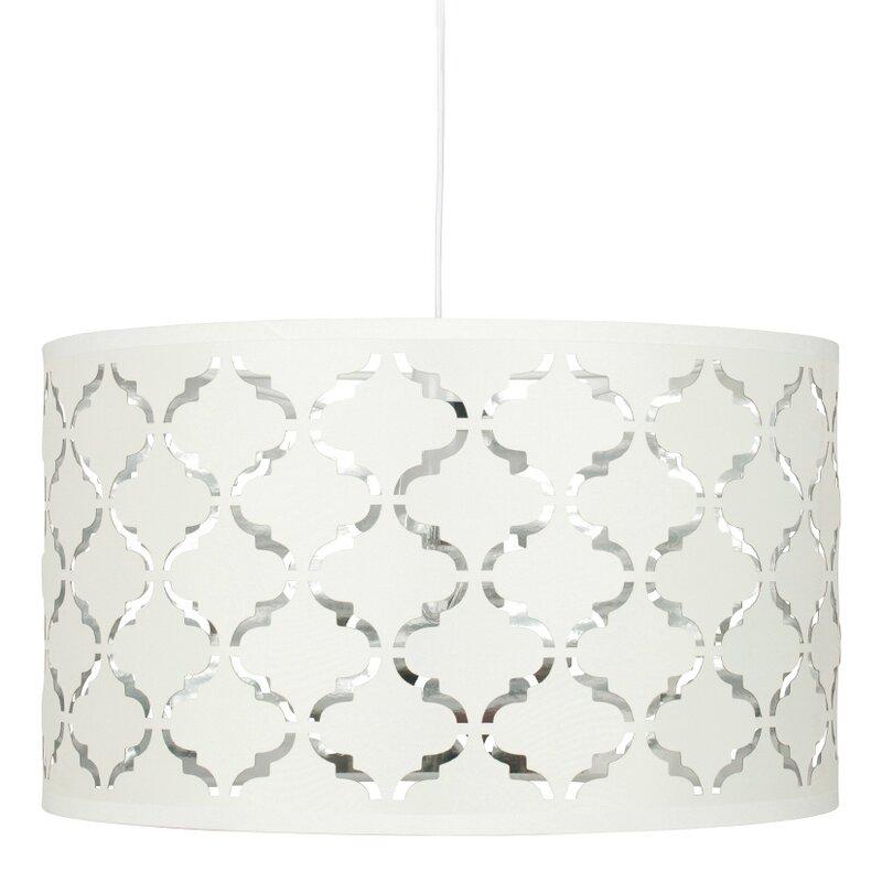 pacific lifestyle 40 cm lampenschirm bizet aus stoff. Black Bedroom Furniture Sets. Home Design Ideas