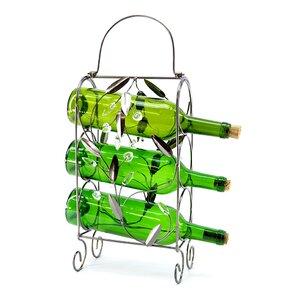 3 Bottle Tabletop Wine Rack by Three Star Im/Ex Inc.