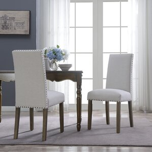 Trefethen Classic Parson Dining Chair (Set of 2) by Alcott Hill