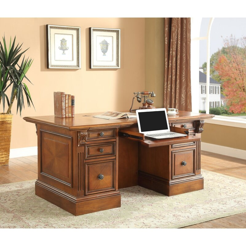 Superb Glastonbury Executive Desk Top Home Interior And Landscaping Mentranervesignezvosmurscom