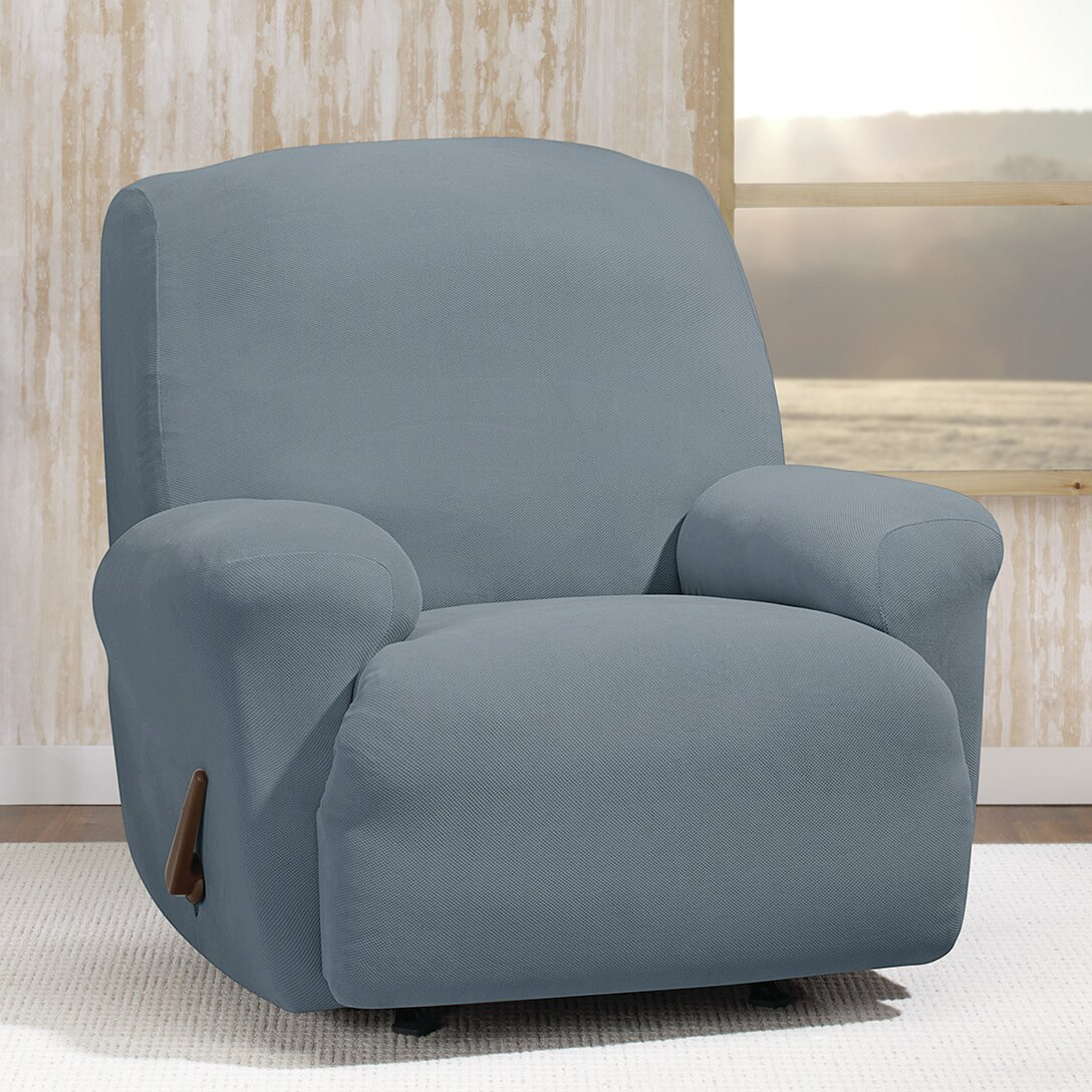 Sure fit stretch morgan t cushion recliner slipcover reviews wayfair