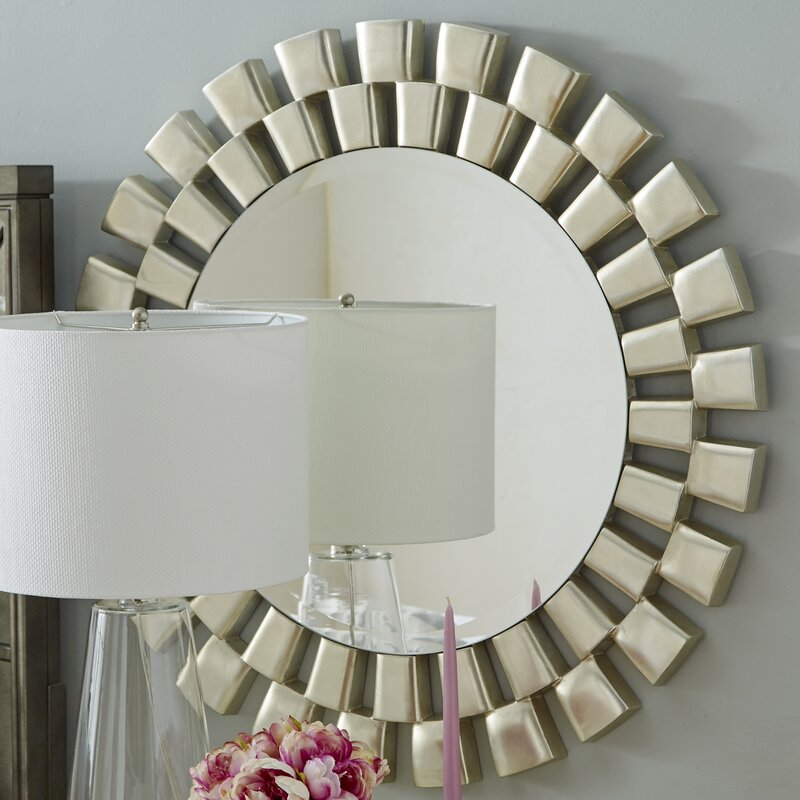 Willa Arlo Interiors Galm Sunburst Accent Mirror Reviews Wayfair