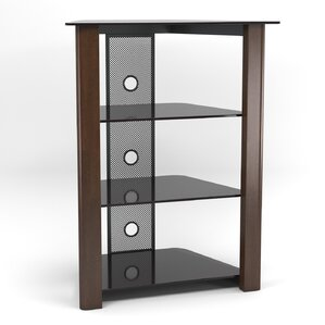 Multi-Level Audio Rack by Zipcode Design