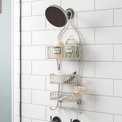 Shower caddies you 39 ll love wayfair - Bathroom corner caddy stainless steel ...