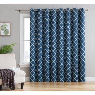 Single Panel Curtain For Patio Door Flisol Home