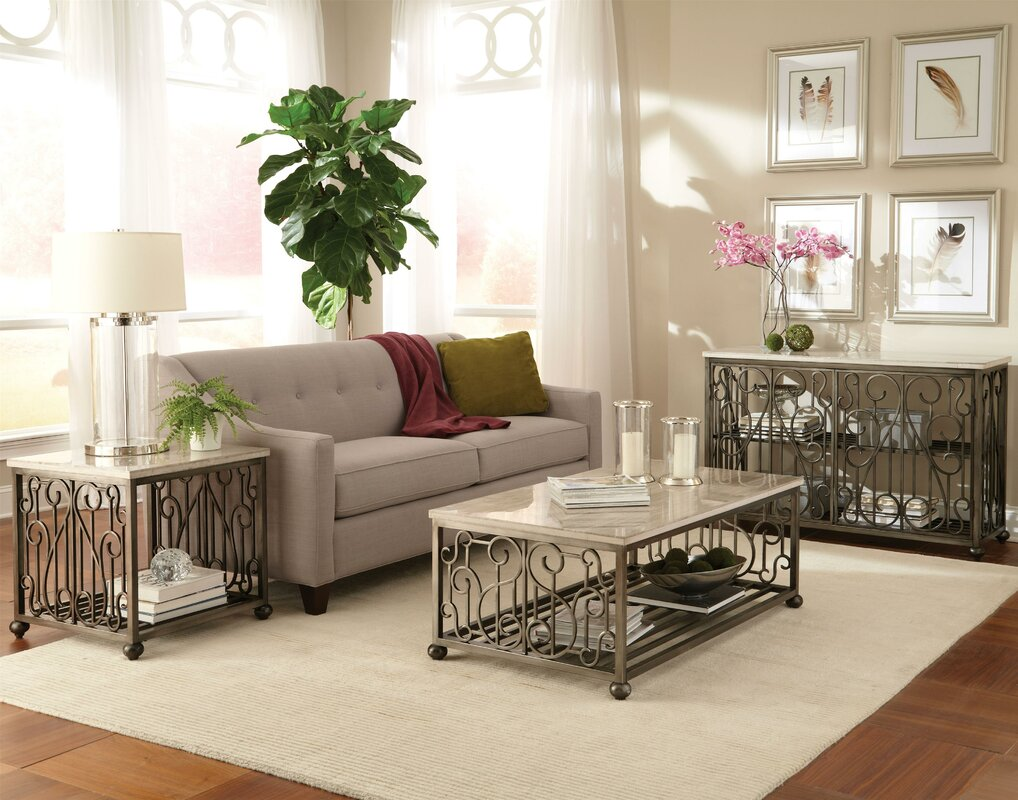 Standard Furniture Coffee Table With Magazine Rack