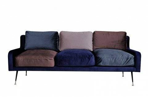 Plum 3 Seater Sofa
