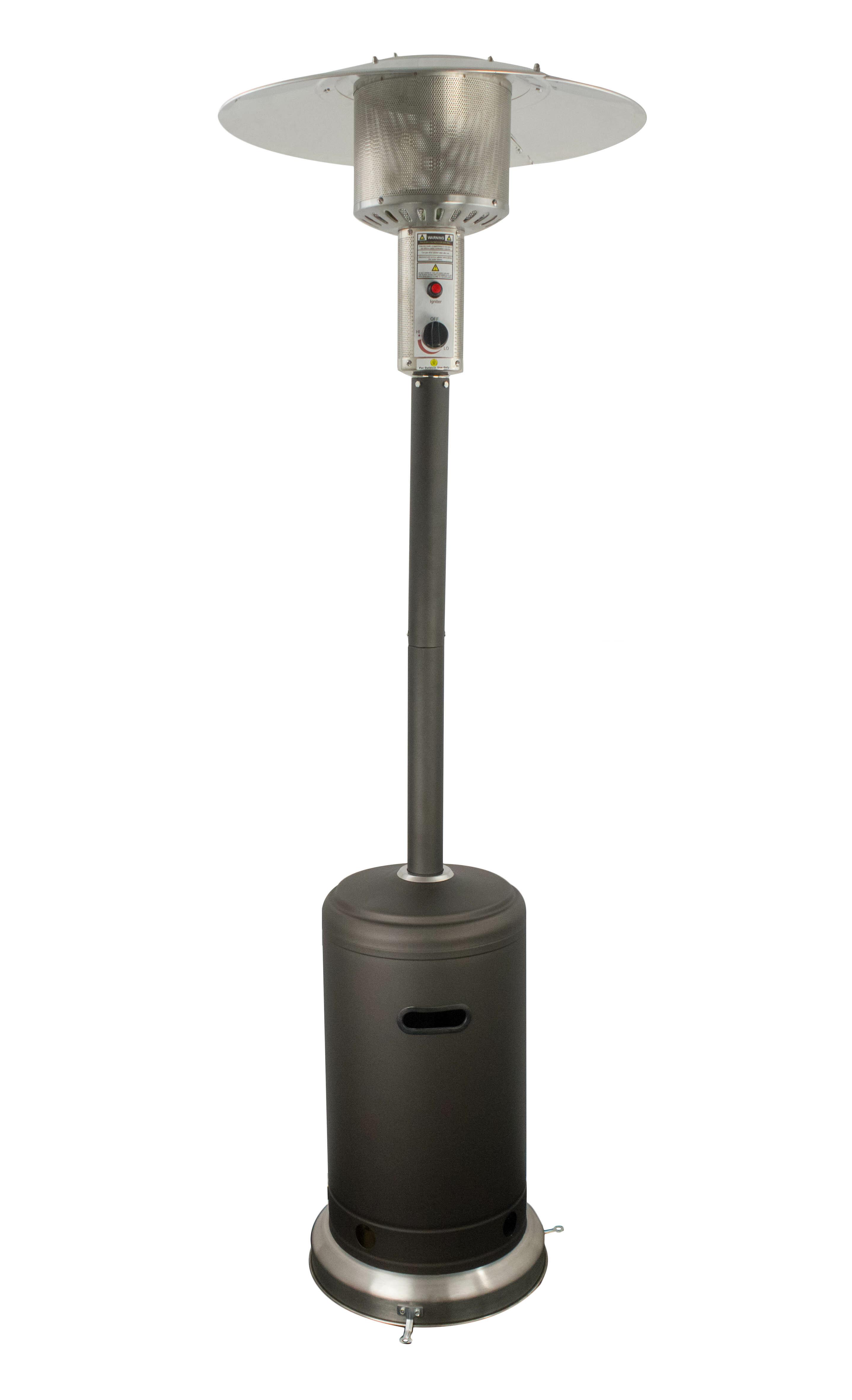 Az Patio Heaters 4000 Btu Standing Patio Heater Reviews Wayfair