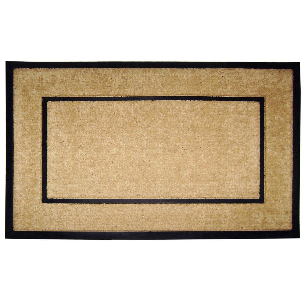 Latitude Run Hutchens Single Picture Frame Doormat & Reviews | Wayfair