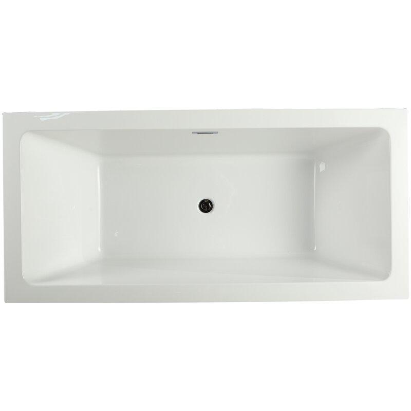 Allegra 66 5 X 31 Soaking Bathtub